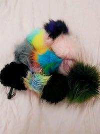 Fuzzy keychains, $5 for each Surrey, V3R 5H5