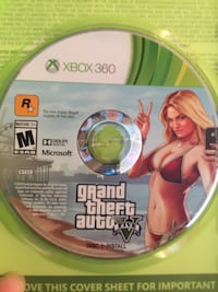 GTA 5 X box 360 Lewisburg, 17837