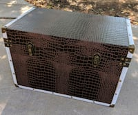 Medium Sized Brown and White Chest Trunk Mesa, 85213