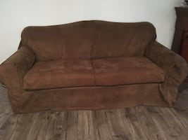 2 couches and arm chair, lightly used!