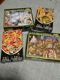 four assorted puzzle