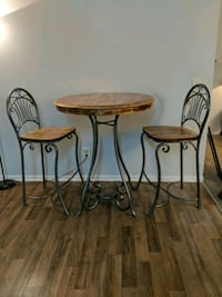 Rustic refinished table ans chairs.  Decatur, 30032