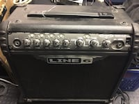 Black and gray line 6 guitar amplifier Huntington Beach, 92647