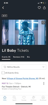 tickets to lil baby