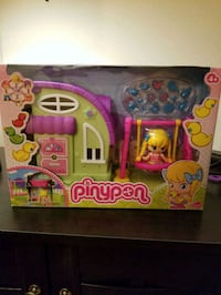 pink and purple Disney Princess castle toy Manassas, 20109