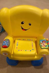 All in one price Musical fisher price chair as new rear ly used