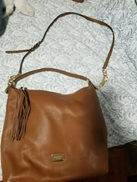 Michael Kors brown leather 2-way handbag Brampton, L6P