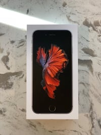 Space gray iphone 6s 64gb Mississauga