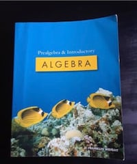 Prealgebra & Introductory Algebra book Roy, 98580