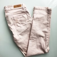 Washed off baby pink jeans size S (4-6) London, N5V
