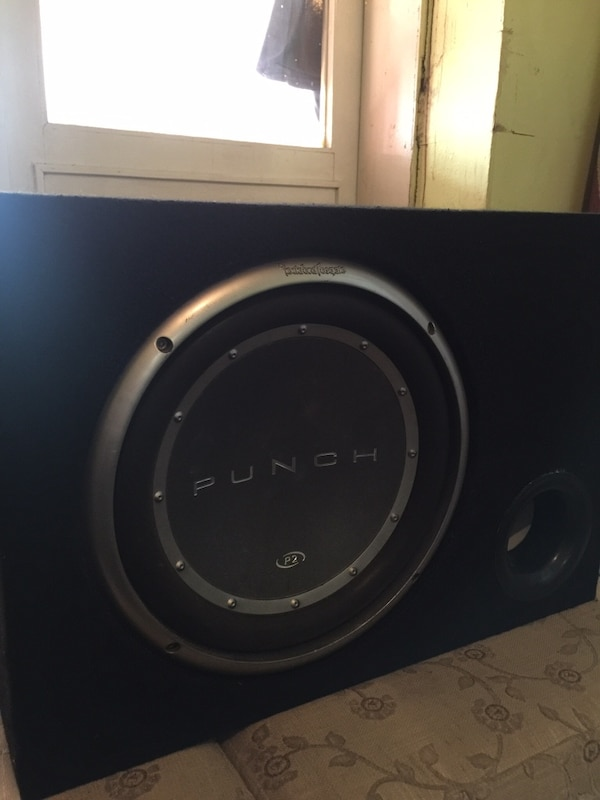 Rockford fosgate punch p2 model 1000 watt 30cm subwoofer orjinal usa