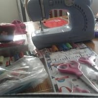 Baby blue  sewing  machine  comes  with  all  you  Edmonton, T5H 1M2