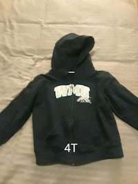 black and white pullover hoodie Broken Arrow, 74012
