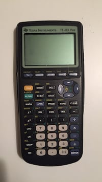 Texas instruments ti-83 plus Woodbridge, 22191