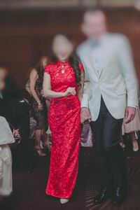 Red Chinese style dress (qipao) Falls Church, 22043