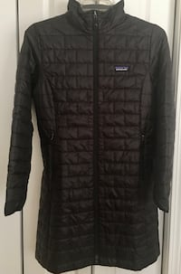 New/Tags/Receipt, Patagonia Nano Puff Parka. LARGE, Thigh/knee length.