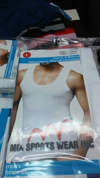 Camisole neuf pour hommes