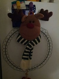 brown deer with scarf wall decoration Amherst, 14228