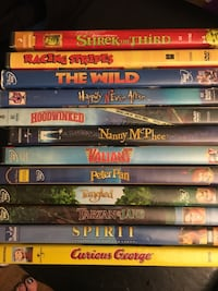 assorted DVD movie case lot Alpine, 91901