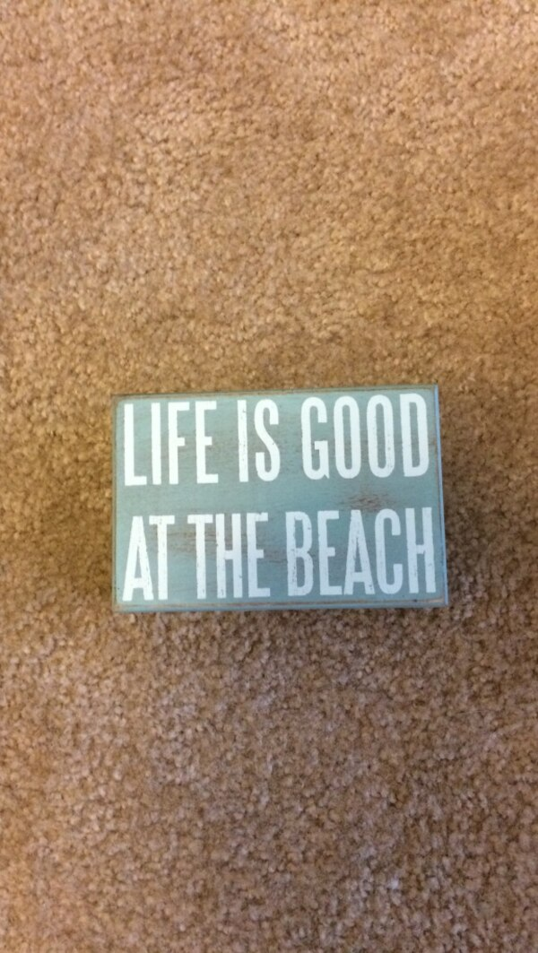 Used Life Is Good At The Beach Wall Decor For In Lewes