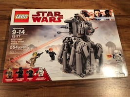 Lego Star Wars # 75177 First Order Heavy Scout Walker New Sealed