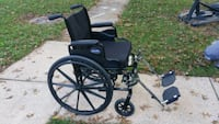 black and gray motorized wheelchair Walkersville, 21793