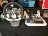 black and gray steering wheel game controller San Jose, 95111