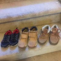 All shoes size 10 toddler all for 12