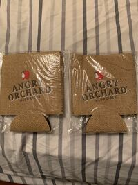 2 Angry Orchard beer koozies Wilmington, 19809