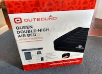 Brand new sealed box queen double-high air bed Toronto, M6M 2N2