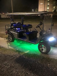 2000 ezgo six passenger golf cart Lifted with LED lights!!!