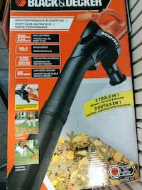 Black&decker blower/vacuum, trimmer  Bradford West Gwillimbury, L3Z 3J6
