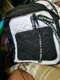 quilted black and white Betsey Johnson leather bag San Francisco, 94110