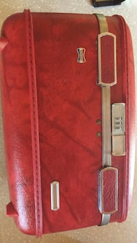 Vintage 60s American Tourister cosmetic bag Bowie, 20715