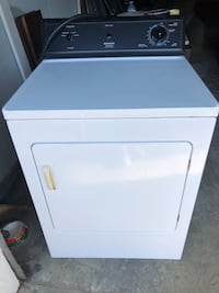 white front-load clothes dryer 3732 km
