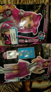 Monster high Catty Noir costume wig included  El Paso, 79936