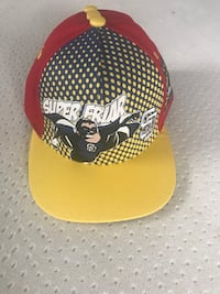 yellow and black fitted cap San Diego, 92114