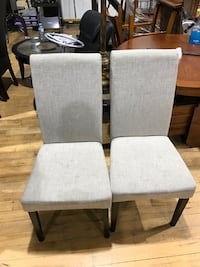 2 chairs $25 each