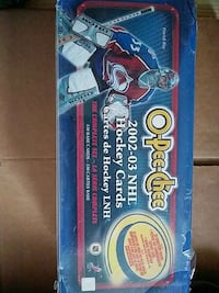 2002/03 OPC HOCKEY CARD SET BRAND NEW