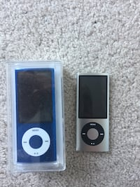 2 iPod nano 8gb one in box one barely used  Alexandria, 22304