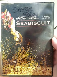 SeaBiscuit DVD movie case Gray, 70359