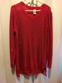 long sleeved red sweater Bryan, 43506