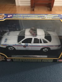 white and blue Police car model Vaughan, L4H 3P6