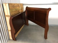 brown wooden bed headboard and footboard Alexandria, 22304