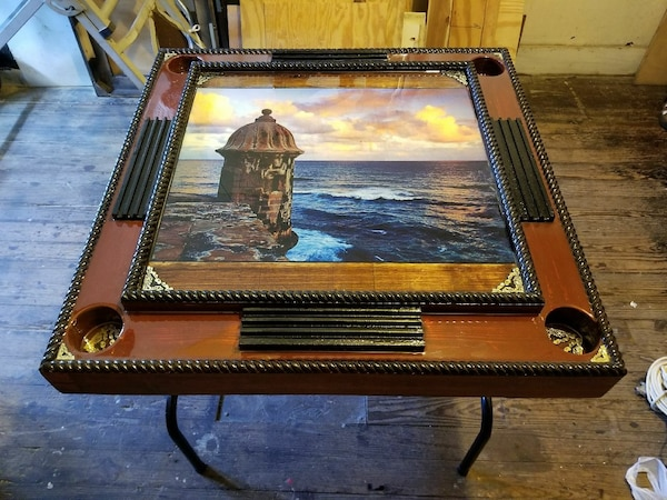 Used Domino Table Of El Morro San Juan Puerto Rico For Sale In