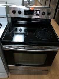 Stainless steel electric stove  Woodbridge, 22191