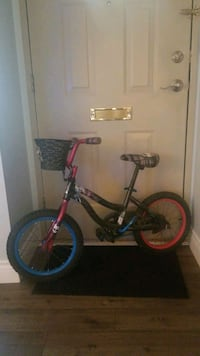 "16"" girls Monster High bike"