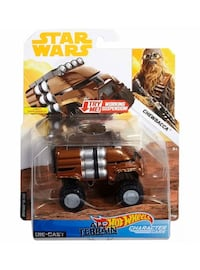 Rare Hotwheels All Terrian Diecast Chewbacca Vehicle