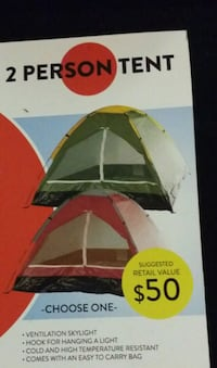 Brand new (RED) 2 PERSON TENT  Toronto, M1J 2G3