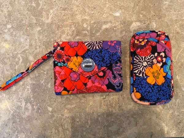 Vera Bradley Wallet & Glasses Case 0